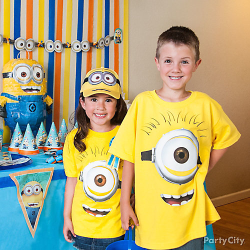 Despicable Me Birthday Outfit Idea