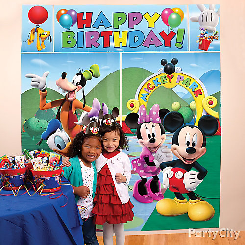 Mickey Mouse Decoration Party Ideas