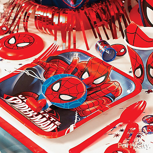 Spider Man Place Setting Idea