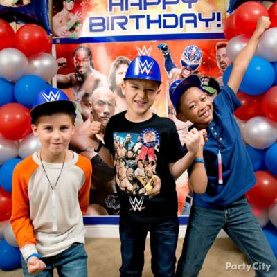 WWE Party Ideas Party City Party City