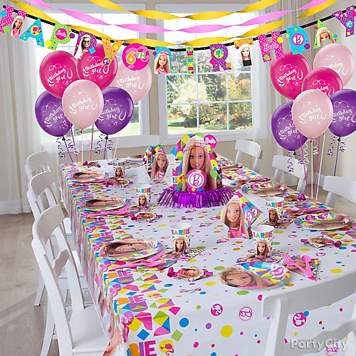 Barbie Party Table Idea Party City Party City