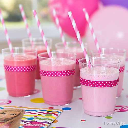 Barbie Pretty In Pink Drink Idea