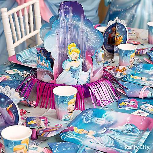 Cinderella Party Table Idea