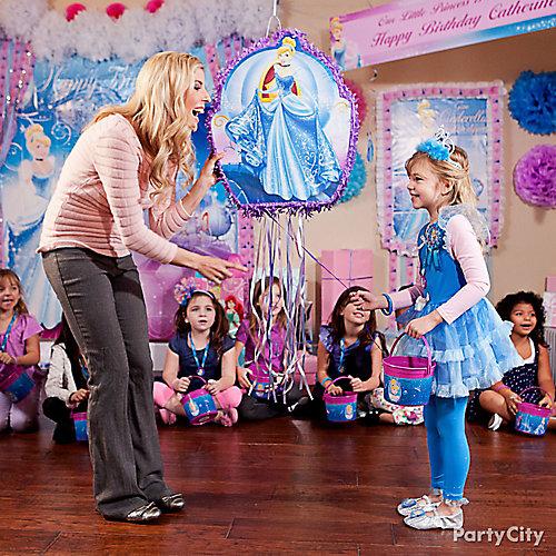 Cinderella Pinata Game Idea
