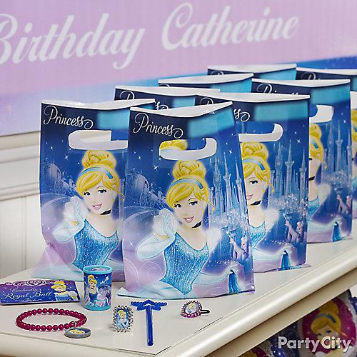 Cinderella Favor Pack for 8 Idea