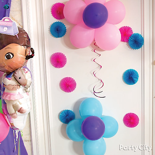Doc McStuffins Wall Decorating Idea