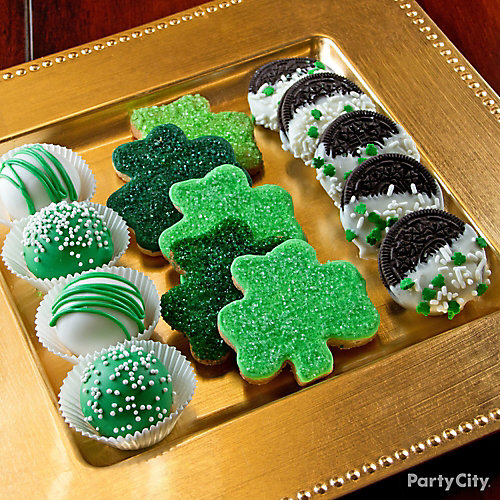 St. Paddy's Cookie Tray Idea