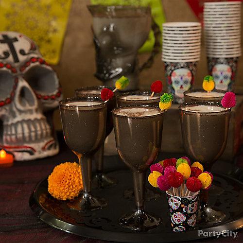 Day of the Dead Calacas Coladas Cocktail Recipe