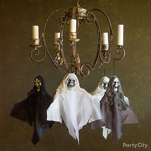 Haunted House Chandelier Ghosts Idea