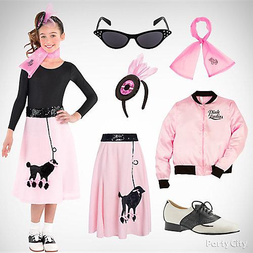 girls fifties cutie costume idea