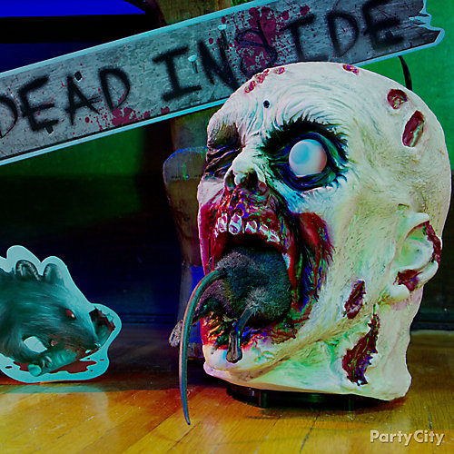 Zombie Animated Head Idea