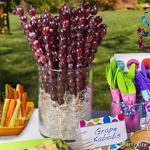 Grape Kabob Idea