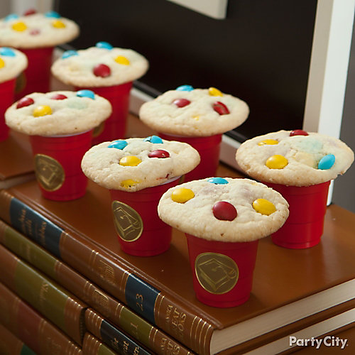 Graduation Milk and Cookies Idea