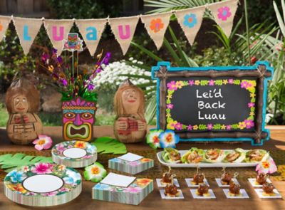 Totally Tiki Luau Party Ideas