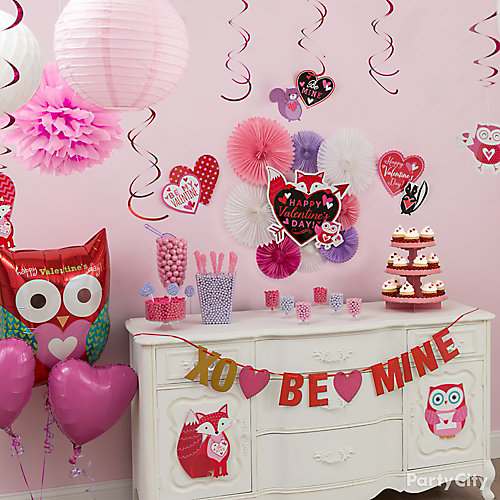 Valentines Candy Buffet Idea