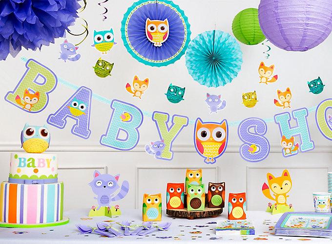 Woodland Baby Shower Ideas