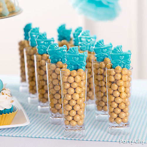 Prince Baby Shower Stroller Candy Idea