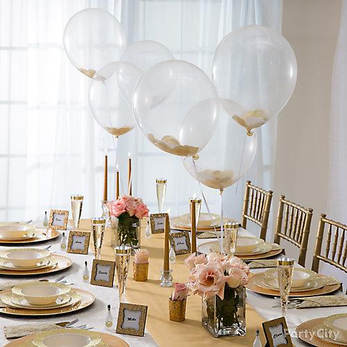 Confetti Balloons Idea