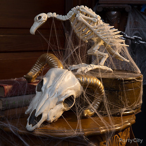 Ram Skull and Vulture Idea