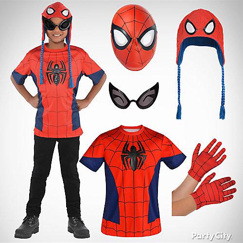 Boys Spider Man Costume Idea