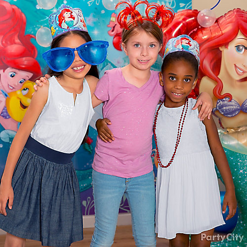 Little Mermaid Photo Booth Activity Idea