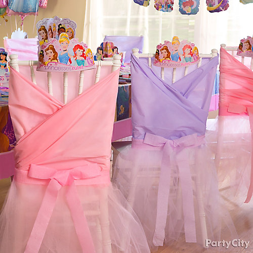 Marvelous Disney Princess Chair Decorating DIY