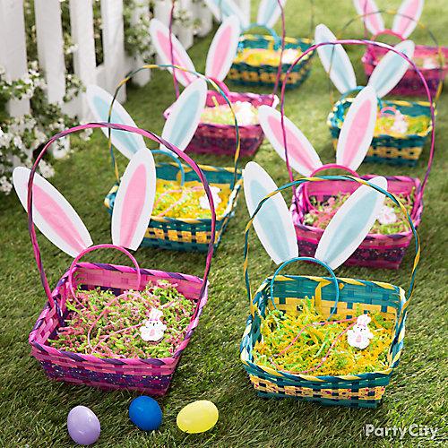 Egg Hunt Baskets Idea