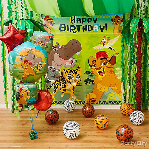 Lion Guard Scene Setter Decorating Idea