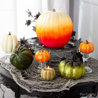 Ombre Pumpkin Styling Idea