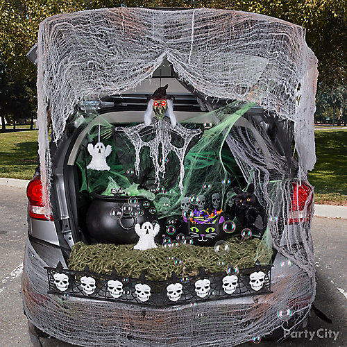 Witch Trunk or Treat Idea