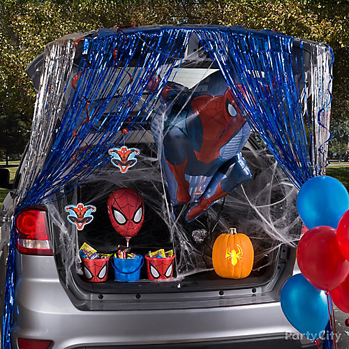 Spider Man Trunk or Treat Idea
