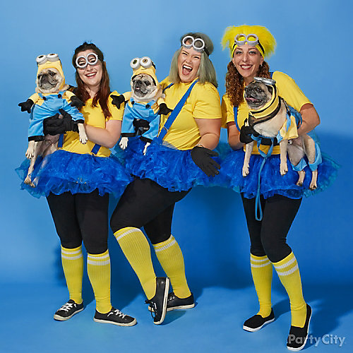 Minions Group Costume Idea