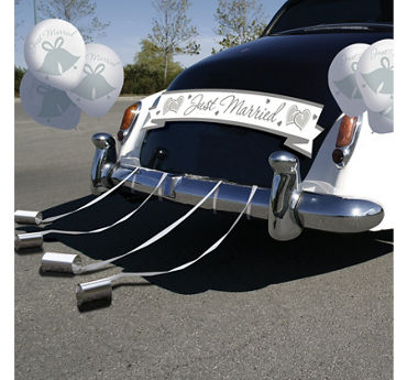 Wedding Car Decorations | Party City