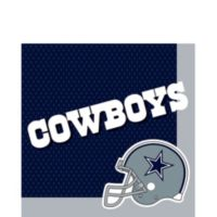 Nfl dallas cowboys party supplies decorations party favors dallas cowboys lunch napkins 36ct filmwisefo Gallery