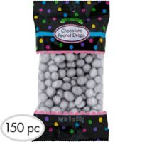 Silver chocolate coins 72pc party city silver peanut chocolate drops 150pc spiritdancerdesigns