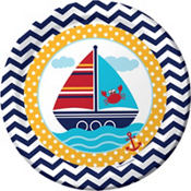 Ahoy Nautical 1st Birthday Party Supplies