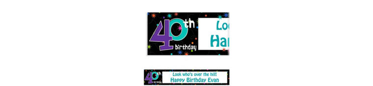 Well-liked 40th Birthday Decorations | Party City PV21