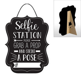 Selfie Station Sign