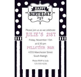 Custom chalkboard birthday invitation null party city custom chalkboard birthday invitation filmwisefo Choice Image