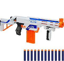 Huge Nerf gun longshot hail fire Modulus Demolisher Raider darts scope lot  1a