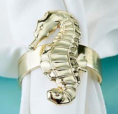 Shop for beach wedding favors: Sea shell bottle openers