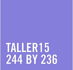 Purple Star Tinsel Tiara