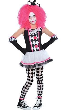 Teen Girls Harlequin Honey Costume   Party City