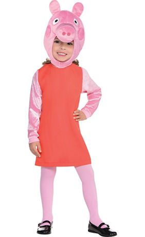 girls peppa pig costume