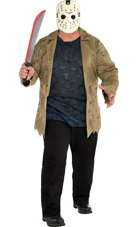 Adult Jason Voorhees Costume - Friday the 13th | Party City Canada