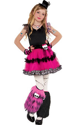 girls fuchsia frankie stein costume monster high