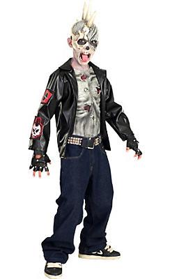 Boys Punk Zombie Costume