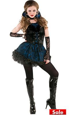 Vampire costumes for kids adults vampire costume ideas party city teen girls midnight vampire costume solutioingenieria Images