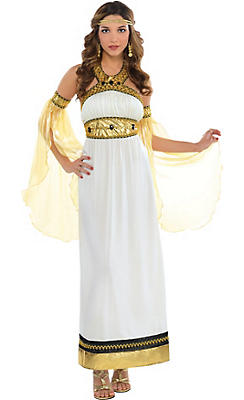 Egyptian roman greek costume accessories party city adult divine goddess costume solutioingenieria Image collections