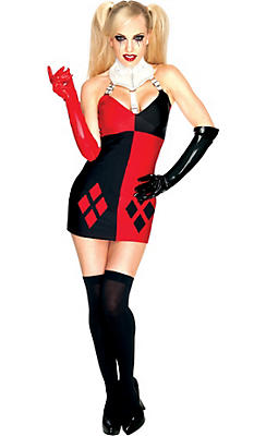 Sexy halloween costumes for women sexy costumes ideas party city adult sexy harley quinn costume batman solutioingenieria Gallery